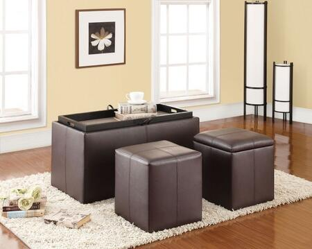 Elias Collection 96647 3 PC Bench and