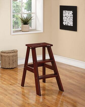 96405 Darrin Step Stool in Dark Walnut