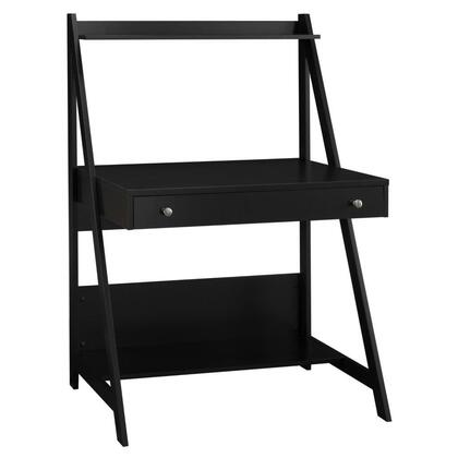 Alamosa MY72701-03 Computer Desk with Pull-Out Drawer  Top and Bottom Shelf Space in