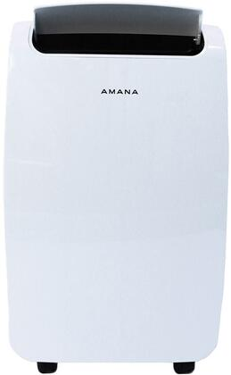 Amana AMAP081AW Portable Air Conditioner with Remote Control in White for Rooms up to 250-Sq. Ft.