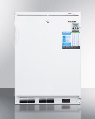 VT65MLBIVACADA 24 inch  Vaccine Series ADA Compliant Built-In Upright Freezer with Digital Thermostat  High/low Temperature Alarm  Factory installed Lock and