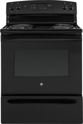 GE 5.0 Cu. Ft. Freestanding Electric Range Black On Black JBS30DKBB
