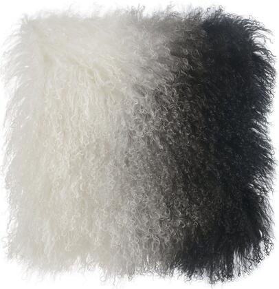 TOV-C5700 Tibetan Sheep Pillow White and