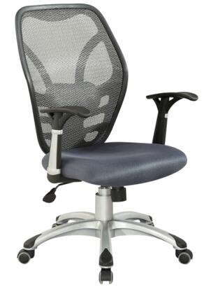 4220-CCH Office Chair with Mesh Seat and Back Pneumatic in