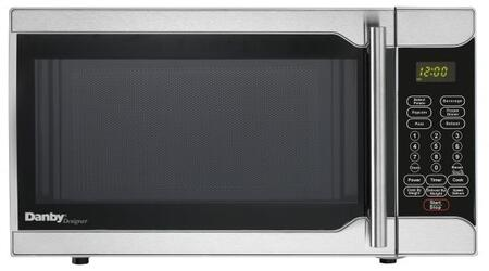 DMW07A2SSDD 18 inch  Counter Top Microwave with 0.7 cu. ft. Capacity  10 Power Levels  6 Simple One Touch Cooking  in Stainless