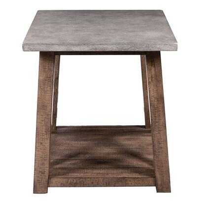 DSD153211 Farmhouse Style Distressed In Brown End