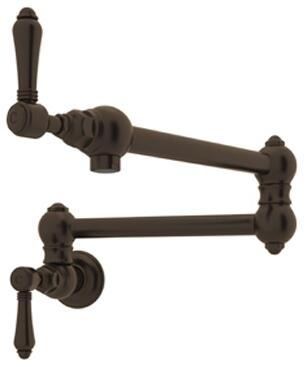 A1451LMTCB-2 Italian Country Kitchen Collection Wall Mounted Swing Arm Pot Filler with 24
