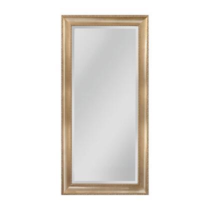MW4508C-0027 Beacon Street Mirror in Light Walnut  Silver Mist