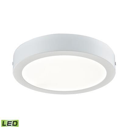 FML5175-AC-30 Ringo 1 Light Round LED Flushmount In Matte White -