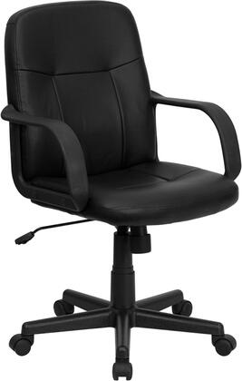 Click here for Flash Furniture H8021-GG High Back Black Glove Vin... prices
