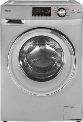 """HLC1700AXS 24"""""""" Front Load Washer/Dryer Combo with 2.0 cu ft. Capacity  Non-Vented Condensing Drying  Spin Cycle Option  and Stainless Steel Drum  in"""" 697868"""