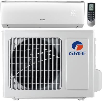 Gree VIR12HP115V1B 12,000 BTU 22 SEER Vireo+ Wall Mount Ductless Mini Split Air Conditioner Heat Pump 115V