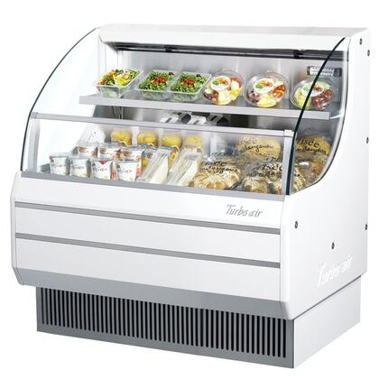 TOM40L 39 Low Profile Display Merchandiser with Modern Design  Attractive Glass Sides  Environmental Friendly Refrigeration System  Standard
