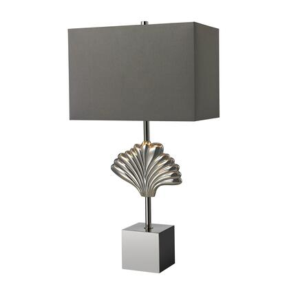 D2675 Vergato Solid Brass Table Lamp in Polished