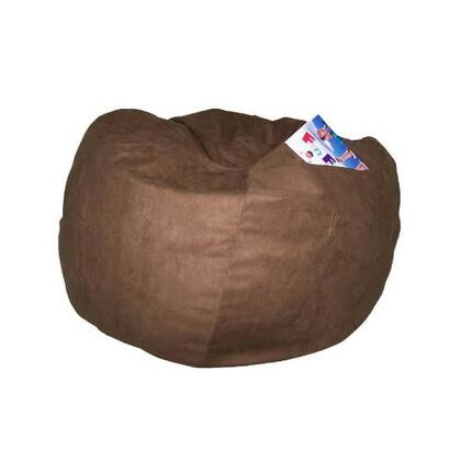 41247P Large Beanbag Brown Micro Suede -