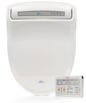 BB-1000WE Supreme Series Advanced Elongated Bidet Toilet Seat  Ergonomic Design  Warm Water  Heated Seat  3 in 1 Nozzle  4 Level Pressure Control  Self Clean