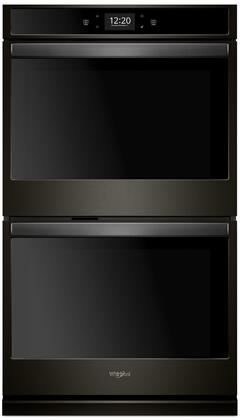 Whirlpool WOD77EC0HV 30 Black Stainless Convection Double Electric Wall Oven