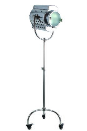 FL1213 Ansel Tripod Floor Lamp D: 26 H: 64 Lt: 1 Chrome