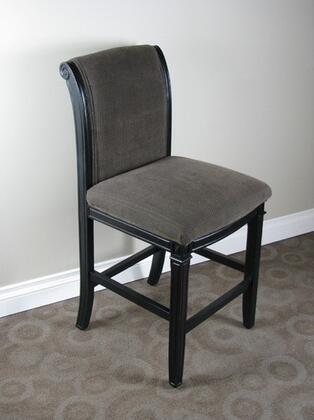 119401 Oxford Bar stool Black