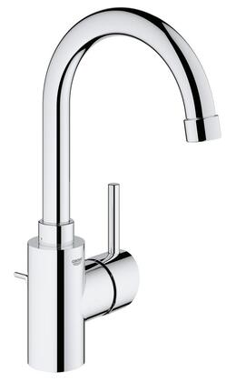 Concetto 3213800A Single-Handle Bathroom Faucet L-Size in StarLight
