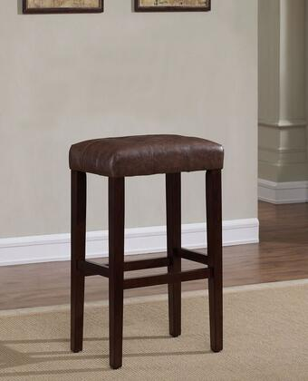 Taylor B2-255-26L 26 inch  Backless Counter Stool with Fire Retardant Foam Cushion  Comfortable Foot Rail and Adjustable Leg Levelers in Espresso Finish with