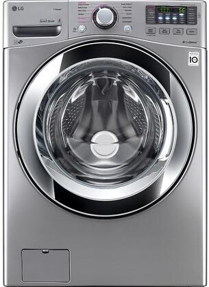 LG WM3670HVA 4.5 Cu. Ft. 12-Cycle Front-Loading Washer Graphite steel