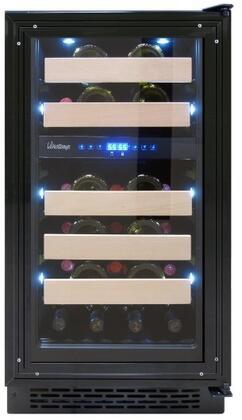 Vinotemp VT18PR28 18 Panel-Ready Wine Cooler