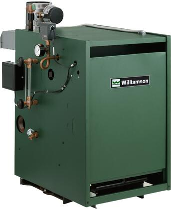 GSA-125-N-IP Gas Steam Atmospheric Boiler with 125000 BTU Input  Spark Pilot System  Cast Iron Sections  Rugged Construction and Chimney Vented  in