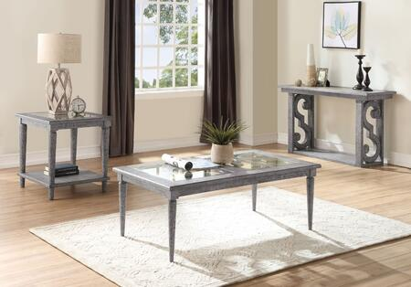 Artesia Collection 86090SET 3 PC Living Room Table Set with 52