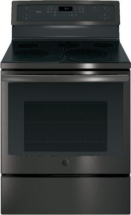 GE Profile PB911BJTS 30 Inch Electric Freestanding Range