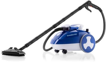 EnviroMate Viva E40 Premium Steam Cleaner with 21 Piece Accessory Kit  5 Bar Pressure  2.6 Liter Water Capacity  Stainless Steel Tank  in