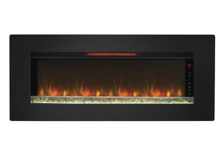 47II100GRG Felicity Wall Hanging Electric Fireplace with SpectraFire  Flame Effect  Touch Screen Function Indicator and Side Lights in