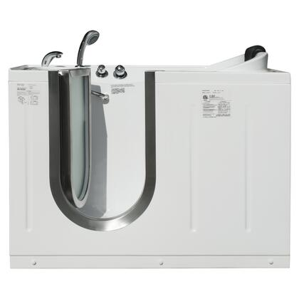 Mg304 Series Mg304l Niagara 52l X 29.5w X 40h Inward Open Walk-in Soaking Tub With Hand Held Shower: Left Side