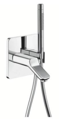 11435001 Axor Urquiola Combination Tub Spout and Fixfit with Handshower: Polished