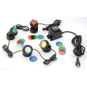 PG-04 Pond Glo 4 Light Pond Lighting with
