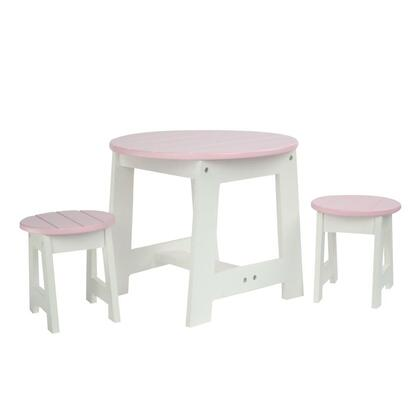 TD-0099A Teamson Kids - Little Princess 18 Doll Furniture - Outdoor Table & 2 Chairs