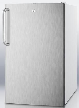Images CM411LBISSTBADA 20 Medically Approved & ADA Compliant Compact Refrigerator with 4.1 cu. ft. Capacity Professional Towel Handle Interior Light and Crisper