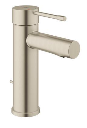 Grohe 32216ENA Essence-S Single Hole Bathroom Faucet, Metallic