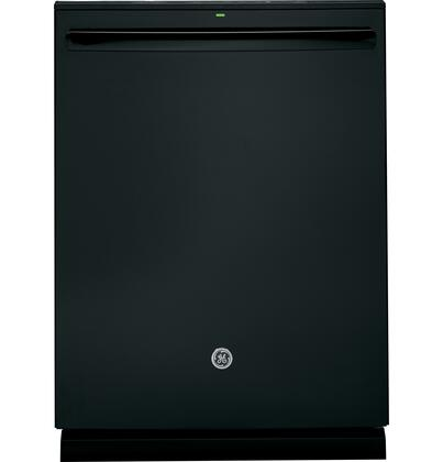"GE 24"" Tall Tub Built-In Dishwasher Black GDT695SGJBB"
