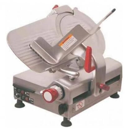 AXS12BA 12 inch  Automatic Meat Slicer with High Carbon Steel Blade  .55 HP Fan-cooled Motor  in Stainless