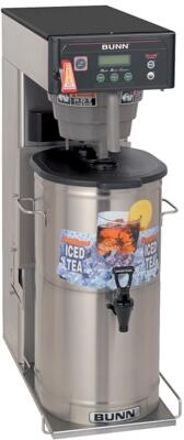 35700.0019 ITCB-DV-DBC w/Integrated Flip Tray Dual Voltage Tea and Coffee Brewer With BrewWISE  Energy-saver Mode  Digital Temperature Control  in Stainless
