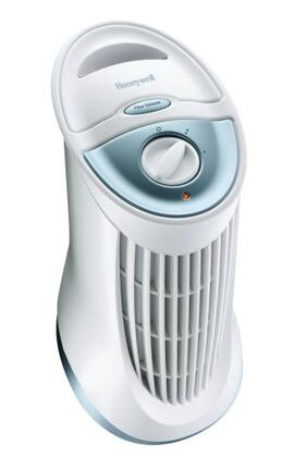 HFD-010 QuietClean Compact Tower Air Purifier with 60 sq. ft. Capacity  Quiet Operation  and Permanent 115882