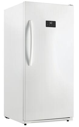 "DUF138E1WDD 28"" Energy Star Rated Danby Designer Upright Freezer With 13.8 cu. ft. Capacity  Frost Free  Quick Freeze Function  Digital Thermostat  And Door"