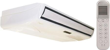 KFUF048-H2G1 Indoor Mini Split Ceiling Unit with 48000 Cooling BTU Capacity  50000 Heating BTU Capacity  3200 sq. ft. Cooling Area  1350 CFM  57 dBA Noise
