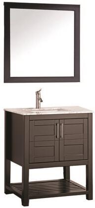 -2130E Norway 30 Single Sink Bathroom Vanity Set