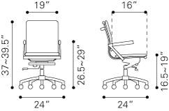 215214 Lider Plus Office Chair