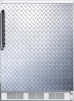 FF6DPL 24 inch  FF6 Series Medical Freestanding Compact Refrigerator with 5.5 cu. ft. Capacity  Interior Lighting  Door Storage and Automatic Defrost: Diamond