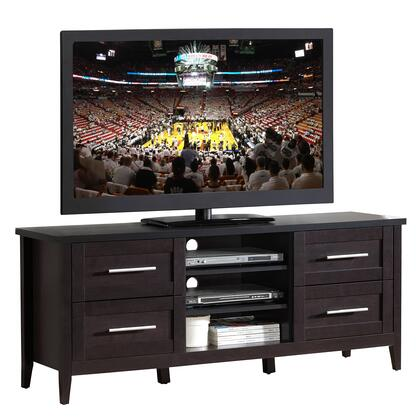 RTA-8898-ES Elegant TV Stand with Storage For TVs Up To 70. Color: