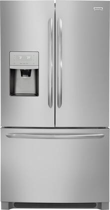 Frigidaire FGHD2368TF Gallery Series 36 Counter Depth French Door Refrigerator with 21.9 cu. ft. Total Capacity, in Stainless Steel
