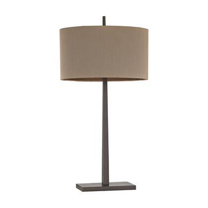 D2914 Wheatstone 1 Light Table Lamp in Bronze